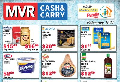MVR Cash and Carry Flyer February 1 to 28
