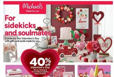 Michaels Weekly Ad Flyer January 31 to February 6