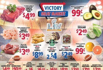 Victory Meat Market Flyer February 2 to 6