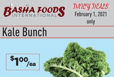 Basha Foods International Daily Deals Flyer February 1