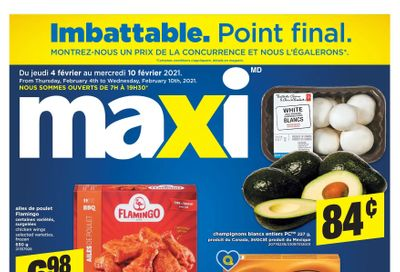 Maxi Flyer February 4 to 10