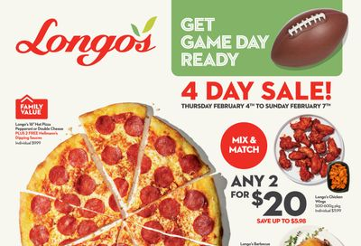 Longo's Flyer February 4 to 7