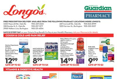 Longo's Pharmacy Flyer February 4 to March 3