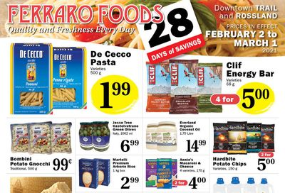 Ferraro Foods Flyer February 2 to March 1