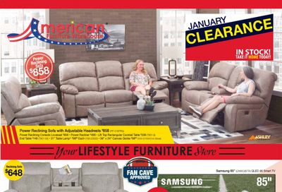 American Furniture Warehouse Weekly Ad Flyer January 31 to February 6