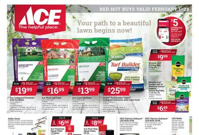 ACE Hardware Weekly Ad Flyer February 1 to February 28