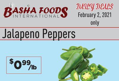 Basha Foods International Daily Deals Flyer February 2