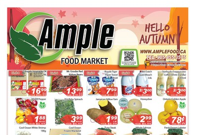 Ample Food Market Flyer October 4 to 10