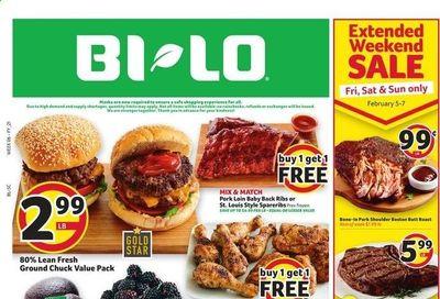 BI-LO Weekly Ad Flyer February 3 to February 9
