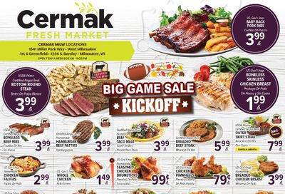 Cermak Fresh Market (WI) Weekly Ad Flyer February 3 to February 9, 2021