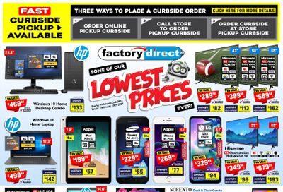 Factory Direct Flyer February 3 to 10