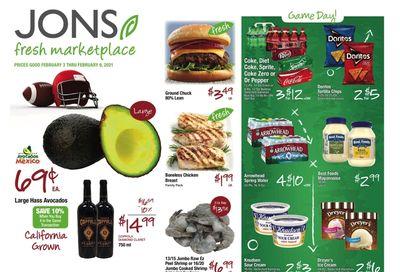 JONS Fresh Marketplace Weekly Ad Flyer February 3 to February 9, 2021
