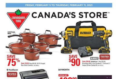 Canadian Tire (ON) Flyer February 5 to 11