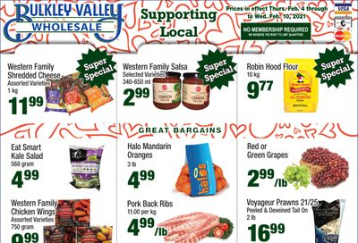Bulkley Valley Wholesale Flyer February 4 to 10