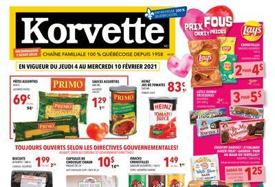 Korvette Flyer February 4 to 10