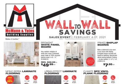 McMunn & Yates Building Supplies Flyer February 4 to 17