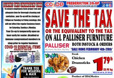 Fredericton Co-op Flyer February 4 to 10