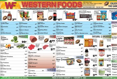 Western Foods Flyer February 3 to 9