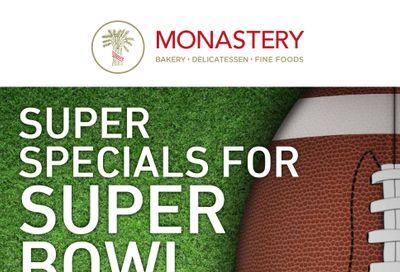 Monastery Bakery Flyer February 3 to 10