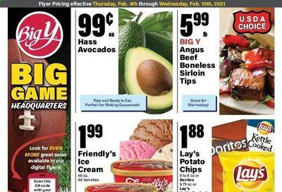 Big Y (MA) Weekly Ad Flyer February 4 to February 10
