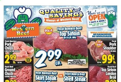 Western Beef Weekly Ad Flyer January 28 to February 3