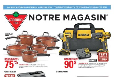 Canadian Tire (QC) Flyer February 4 to 10