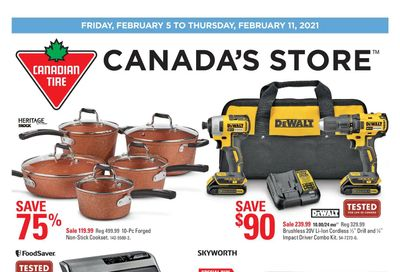 Canadian Tire (Atlantic) Flyer February 5 to 11