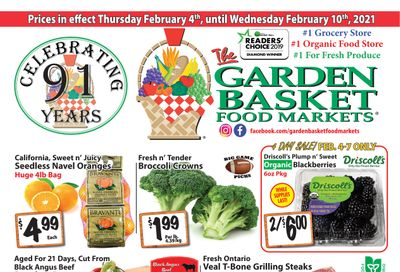 The Garden Basket Flyer February 4 to 10