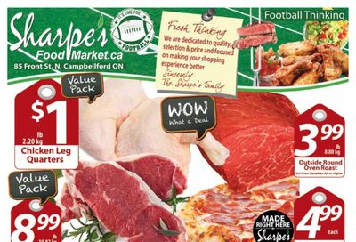Sharpe's Food Market Flyer February 4 to 10
