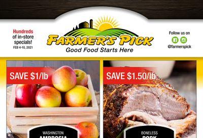 Farmer's Pick Flyer February 4 to 10