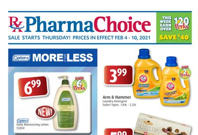 PharmaChoice (BC, AB, SK & MB) Flyer February 4 to 10