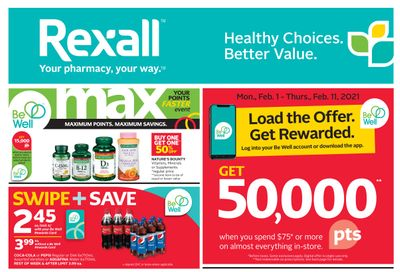 Rexall (West) Flyer February 5 to 11
