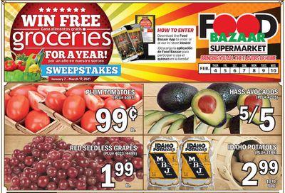 Food Bazaar Supermarket Weekly Ad Flyer February 4 to February 10, 2021