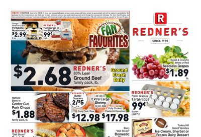 Redner's Markets Weekly Ad Flyer February 4 to February 10, 2021