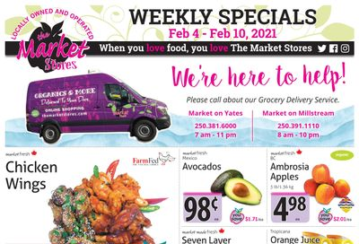 The Market Stores Flyer February 4 to 10