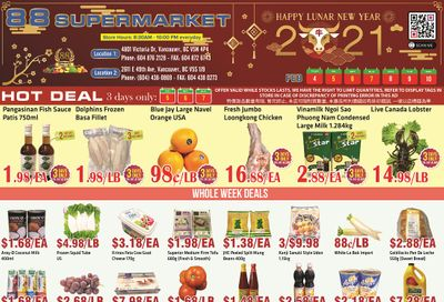 88 Supermarket Flyer February 4 to 10