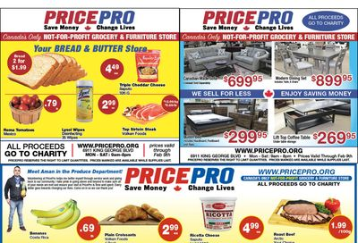 Price Pro Flyer February 3 to 9