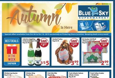 Blue Sky Supermarket (Pickering) Flyer October 4 to 10