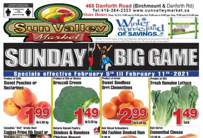 Sun Valley Market Flyer February 5 to 11