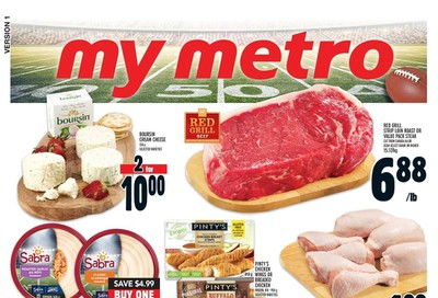 Metro (ON) Flyer January 30 to February 5