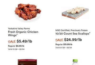 Whole Foods Market (ON) Flyer January 29 to February 4