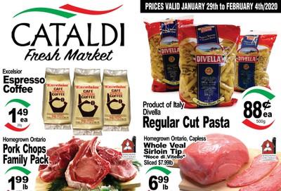 Cataldi Fresh Market Flyer January 29 to February 4