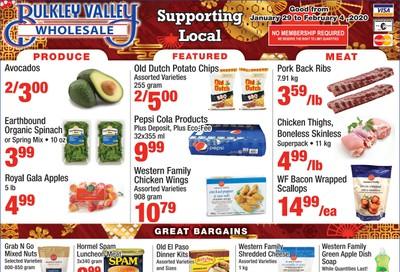 Bulkley Valley Wholesale Flyer January 29 to February 4