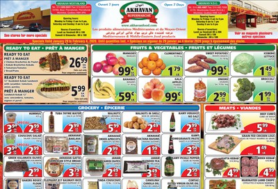 Akhavan Supermarche Flyer January 29 to February 4