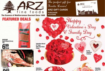 Arz Fine Foods Flyer February 5 to 11
