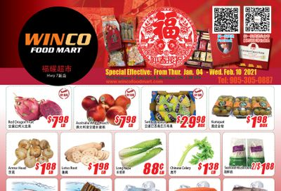 WinCo Food Mart (HWY 7) Flyer February 4 to 10