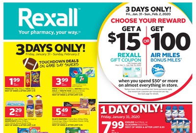 Rexall (West) Flyer January 31 to February 6
