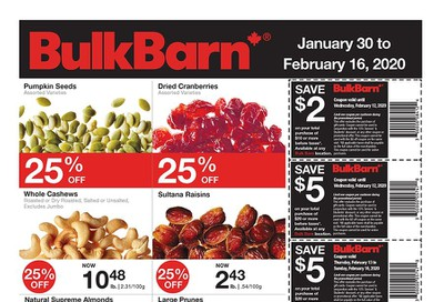Bulk Barn Flyer January 30 to February 16