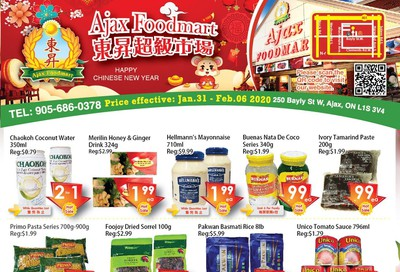 Ajax Foodmart Flyer January 31 to February 6