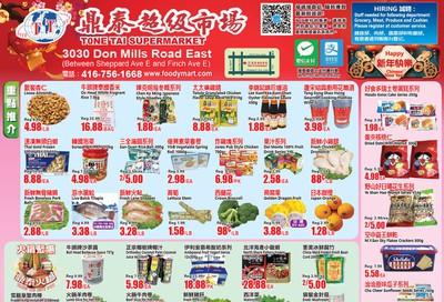 Tone Tai Supermarket Flyer January 31 to February 6